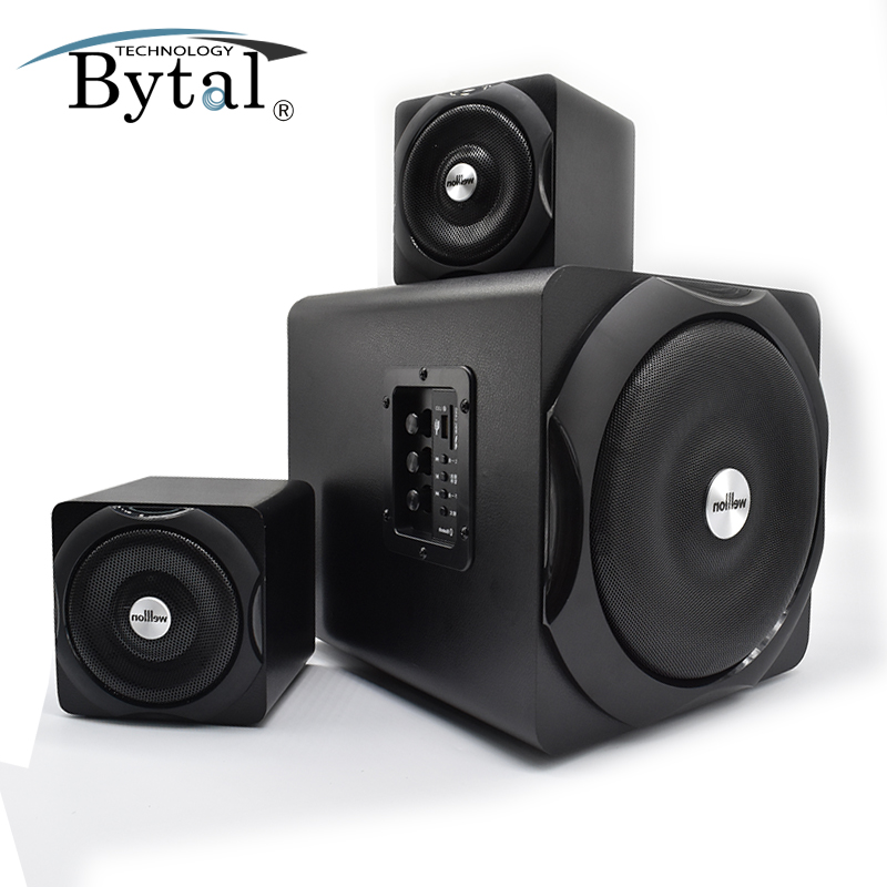 High Quality Cheap Made in china Hifi System Wood Super Bass Bluetooth wooden Speaker