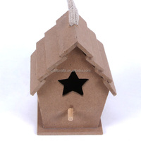 Garden Feeder Pets Bird House wooden bird cage