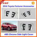 for fortuner accessories side light cover for fortuner 2015 trun light/lamp cover for fortuner 2016