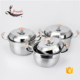 New popular product large stainless steel cooking pots from 20cm-34cm