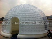 Clear inflatable dome tent, inflatable igloo K5035
