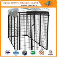 Dogs Application and Stocked / Eco-Friendly Feature welded wire dog kennels