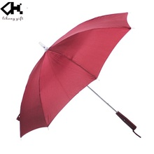 High quality straight safe Rain Umbrella With Led Light