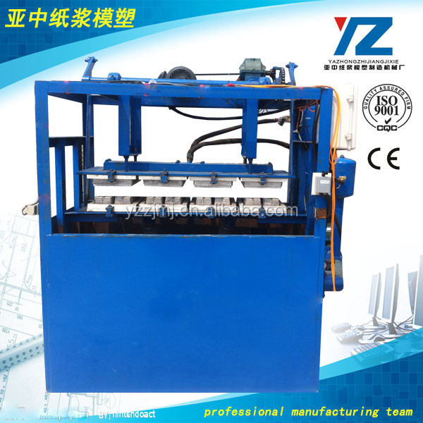 egg tray/fruit tray/bottle tray/ egg tray pulp molding machine