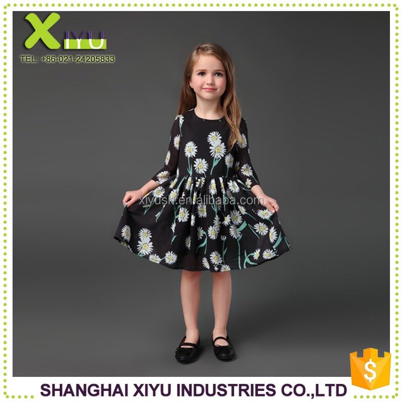 favorite For sale girls printed children fashion frock designs