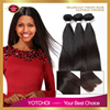 Wholesale Black Supply 100% Brazilian Silky Straight Human Hair Extension