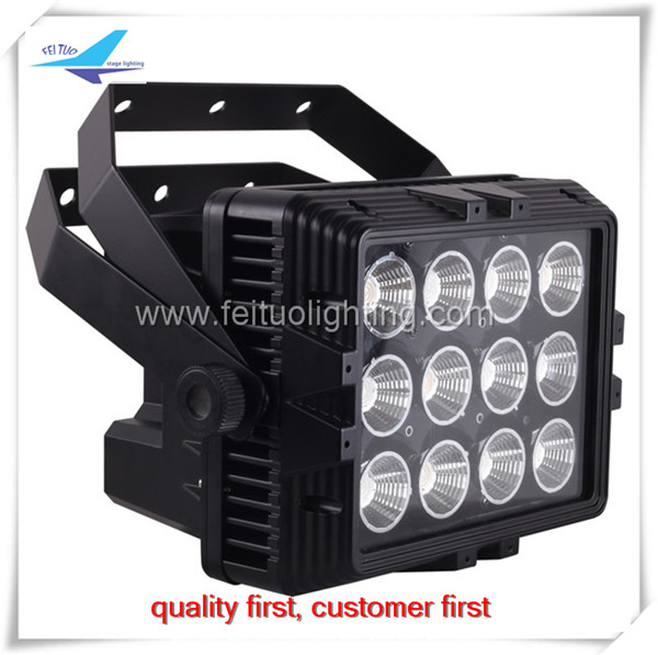 waterproof led lights 12pcs 6in1 battery powered led par 12x12w dmx ip65 led wall washer
