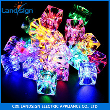 Hot sale ice cube LED string light fairy festival string light garden patio curtain decor holiday light