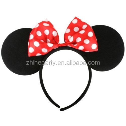 how to make mickey mouse ears headband