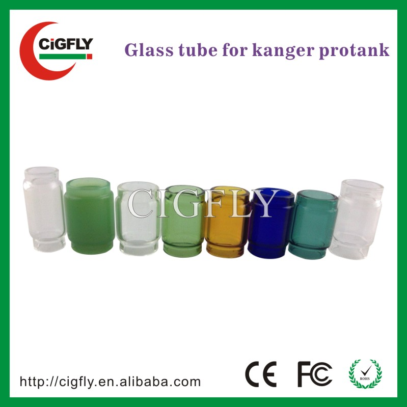 Newest Kangertech original product replacement glass Protank 2 Kanger Protank 3 pyrex glass tube pipes
