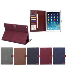 Case for ipad Air 2, for iPad Air 2 Retro Leather Case with stand