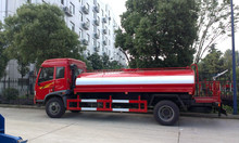 Luxury Model! Guaranteed 100% FAW 10cbm stainless steel water tank truck for sale