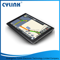 Display solution 800*480 car gps navigator sd card free map