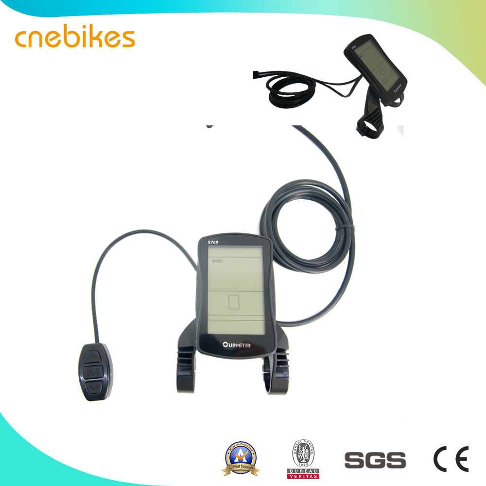China high speed small 36v 250w/350w electric bike bicycle geared motor conversion kit, ebike kit with LED/ LCD/Color display