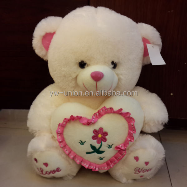 Big large soft plush 30cm 40cm 50cm sitting teddy bear plush