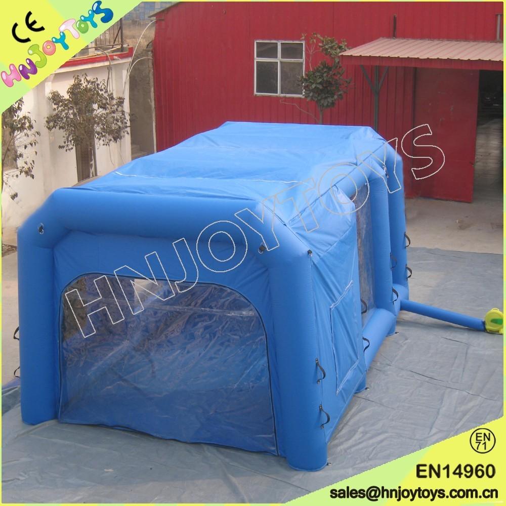 used inflatable spray booth portable spray paint booth saico
