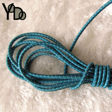 YQ-RE05 Dotting colored coiled elastic rubber string stretchy cord for mask