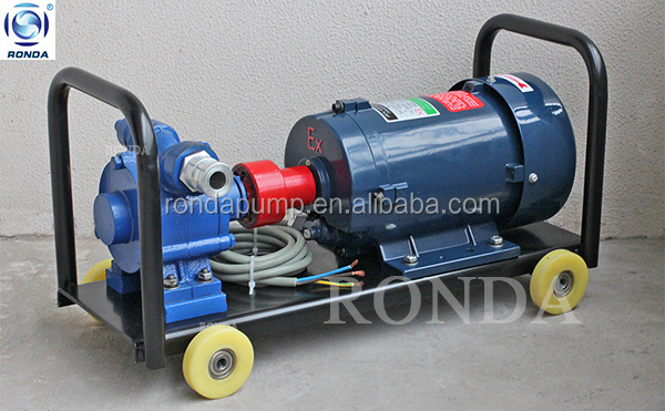 KYB large capacity moveable self-priming sliding vane pump fuel transfer pump