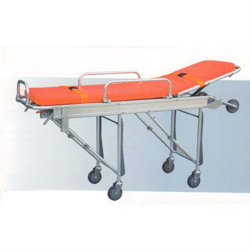 ambulance stretcher folding trolley