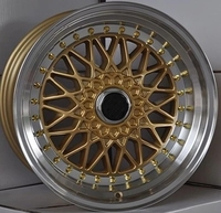 hot selling matter marron color alloy wheels