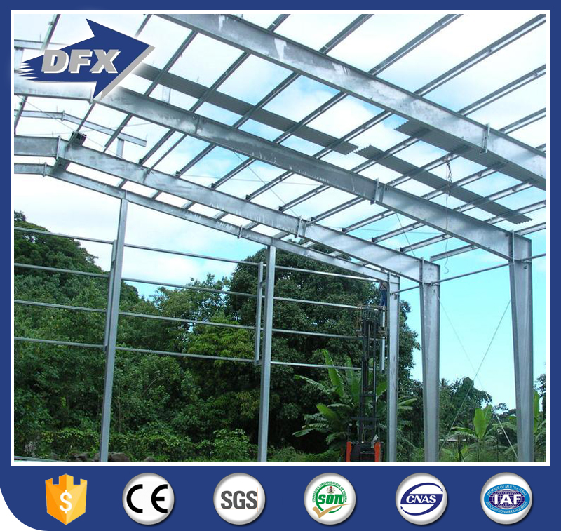 Best Design Tanzania Warehouse Anti-wind Poultry Farm Building