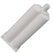50ml 1:1 Double Epoxy Cartridge, dual component Dispensing bottle ,mixer tube for instruction
