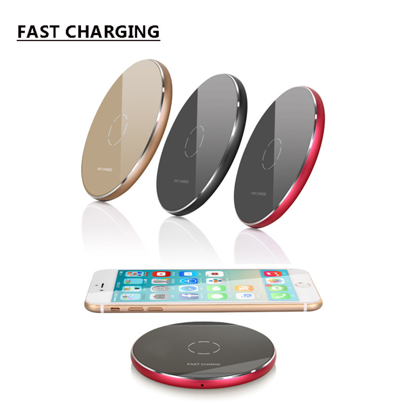 2018 Factory wholesale Price quick wireless charger for iphone X for iphone 8 10W wireless charging pad Charger N9 black