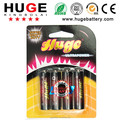 High quality and competitive price with PVC jacket1.5V AA R6P super heavy dury dry battery