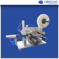semi automatic flag labeling machine for cable