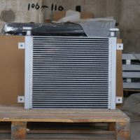 Bar plate High efficency oil cooler for cat excavator