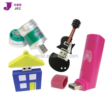 Soft PVC Rubber USB flash pen drive free custom logo VIP gift usb flash drive 4GB 8GB 16GB pen drive Model: Custom USB 001