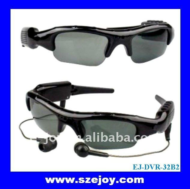 eyeglasses dvr camera with mp3