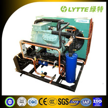 JZSB Bitzer Semi-hermetic Two-stage Compression Refrigerant Compressor Air Cooled Condensing Unit, Low Vibration Air Cooled Cond