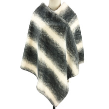Fashion New Design Winter Warm Acrylic Poncho Shawl