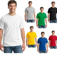 OEM cheap blank promotional t shirt good for sublimation