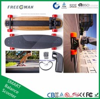 Freeman Canadian 4 wheels electric wheel hub motor Maple Skateboard Long Board