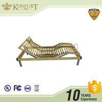 Alibaba Top 1 Supplier Home furniture European Single Electric Motion bed Adjustable Slat Bed