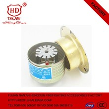 concealed type automatic fire extinguishing sprinkler head