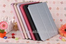 For ipad air case Silk PU Leather Thin Case Stand case for ipad air
