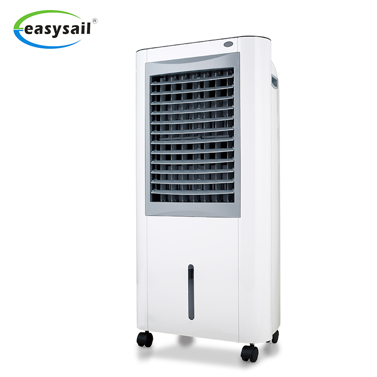 China manufacturers electric home use air cooler mobile mini evaporative portable air conditioners with honeycomb paper