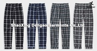 High quality men's plaid short pants