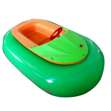 Best price popular inflatable tube commercial amusement pool toys new water remote control bumper boat for sale