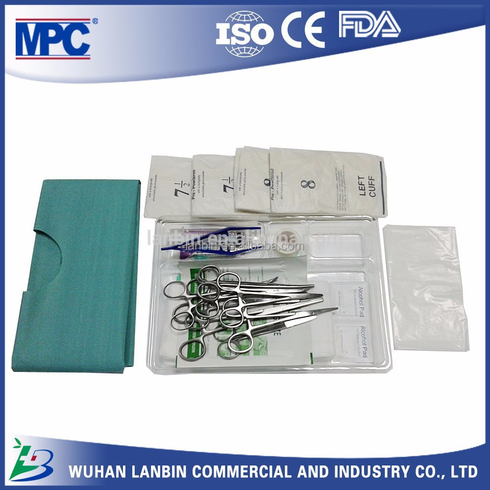 Disposable Surgical Circumcision Kit Artery Forceps Straight