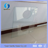 8mm clear tempered glass for building with drilling holes with ISO,CCC,SGS,BV