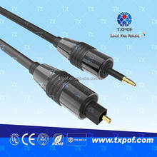 Cheap Price Toslink Jack to Mini Toslink Jack Digital Audio Optical Fiber Cable