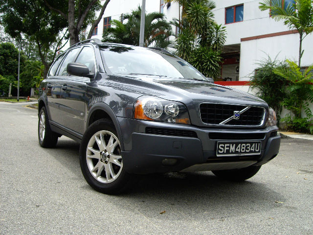 Volvo XC90 2.5T 2004 Full Spec for Export , Singapore Used Car