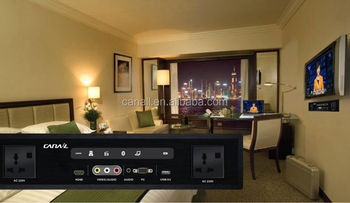 lowest price 12V 1.5A active digital media player for hotel rooms