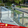 stainless steel handrails or guardrail glass banisters uk