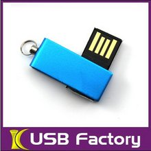 Classic design good quality new mini slip blue color usb sticks