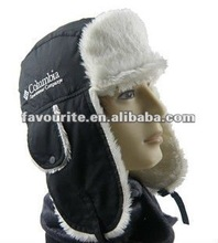 winter hat with ear flap